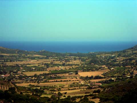 The Sarrala Plains Facing the Marina di Tertenia