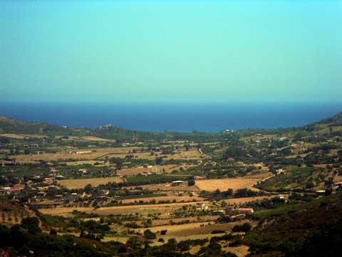 The Sarrala Plains Facing the Marina di Tertenia