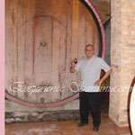 my dad tasting cannonoau di sardegna wine