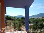 panoramic view from a country home veranda cardedu