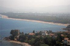 the lotzorai beach in sardinia