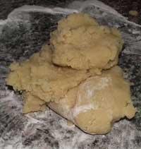 homemade italian almond paste