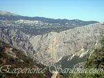 panoramic view of the mountains in nuoro sardinia
