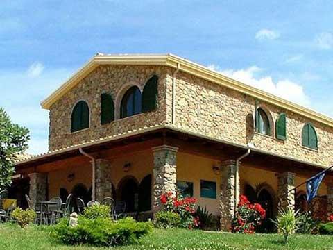 the hotel Janas in tertenia sarrala