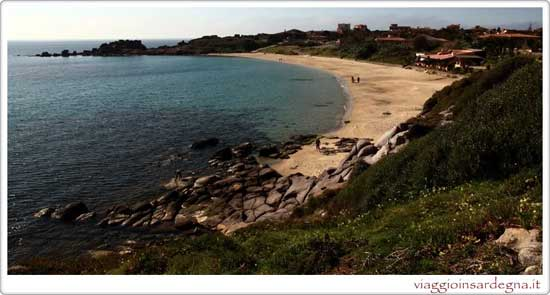 The Porto Paleddu Beach in Sardinia