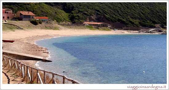 Pictures of the Beach Of Porto Palma in medio campidano