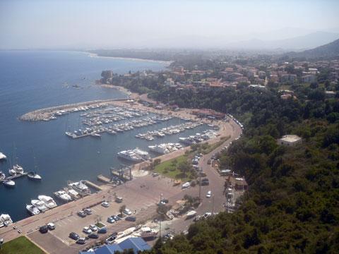 Tourist Harbor  In Santa Maria Navarrese