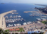 small boat harbour in santa maria navarese sardinia