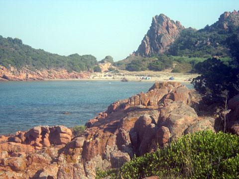 su sirboni beach in the marina di gairo