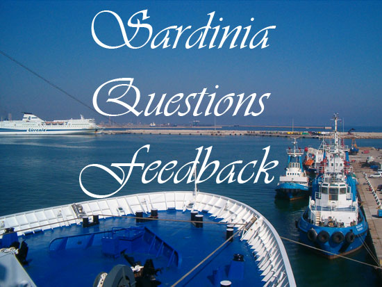 infographic for questions about sardinia italy