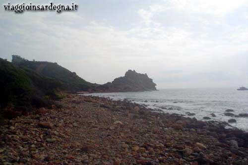 Cape Sferracavallo in the Marina di Tertenia
