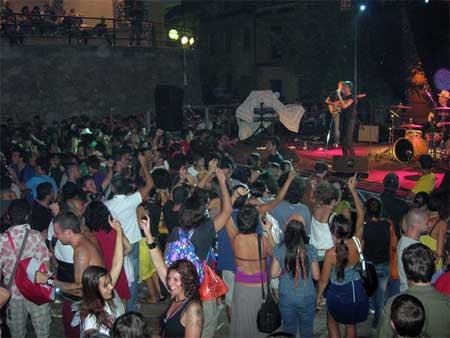the calici di stelle festival in jerzu