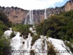 waterfalls near santa barbara in ulassai ogliastra