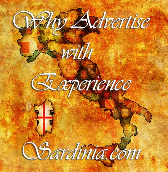 infographic about why to advertise with expereince sardinia.com